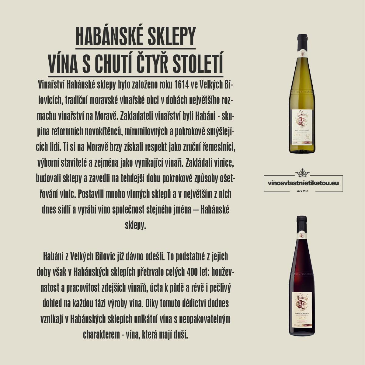 Víno s vlastní etiketou